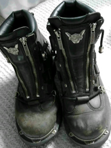 Authentic Harley Davidson Ladies Motorcycle Boots