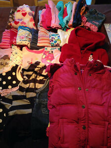 35 Items of Girls Size 3 Clothing