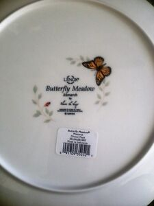 lenox butterfly and dragonfly meadows dishes