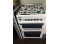 White leisure 60cm gas cooker grill & oven good condition with guarantee