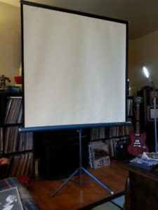 REDUCED Da-Lite FLYER 50 x 50 Projection Screen