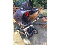 Baby travel system / pram/ car seat