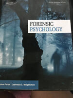 Forensic Psychology Second Canadian Edition