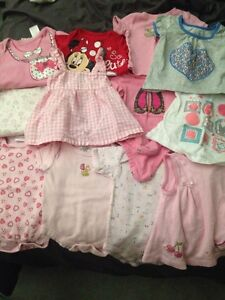 Lot of baby girls clothes 3-9 months assorted
