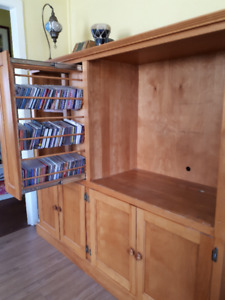 Solid Wood Custom Cabinet