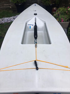 2014 Laser Sailboat in perfect condition, lots of extras