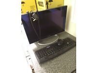 Monitor, 17 inch, ex con, with 2 keyboards and mouse, £25.00