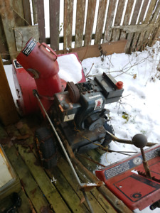 "MTD 5HP /24"" snowblower $80"