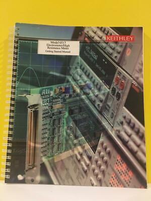 Keithley 6517-903-0 6517 Electrometerhigh Resistance Meter Getting Started