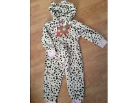 NEXT Fleece all in one size 1.5-2Y