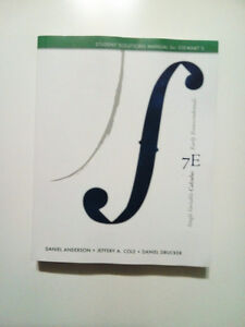 Calculus( Student solutions manuels for Stewarts) / New