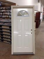 "36"" Fiberglass exterior door with 4 9/16 jamb ***SOLD***"