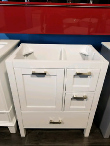 "30"" Solid Wood Vanity handles...No countertop..Clearance!"