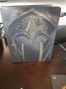 assassins creed odyssey steelbook case only with free pop