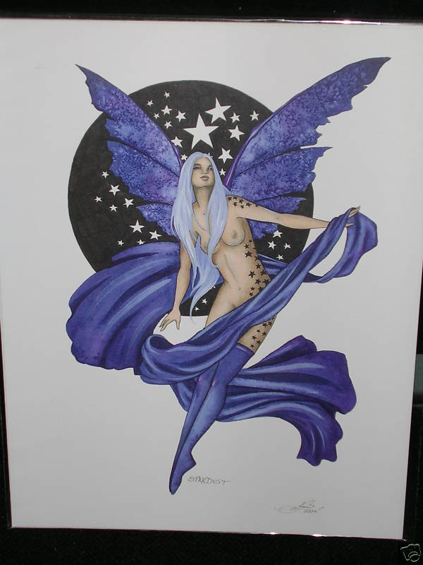 Amy Brown - Stardust - RARE - OUT OF PRINT