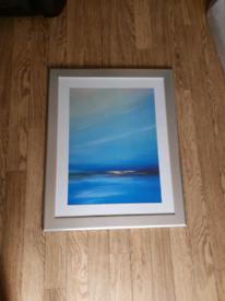 Large picture framed