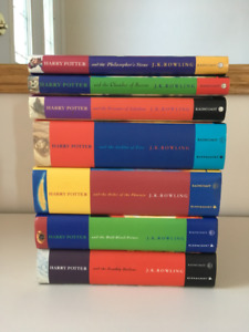 Complete Set of Harry Potter Books - Hardcover