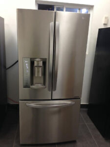 LG LFXS24623S 33in 24.2 Cu. Ft. Refrigerator Stainless Steel
