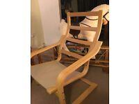 Poang ikea chair frame
