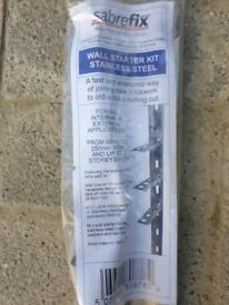 Sabrefix Wall Starter Kit x 3