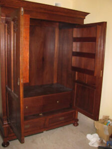 ANY ANTIQUE FURNITURE/ desks & cabinets / refinishing/painting