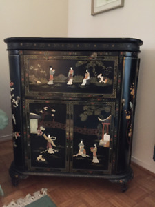 Meuble / Bar ** Oriental Antique ** Bar Cabinet