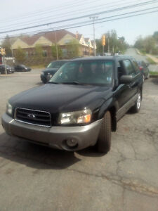 2005 SUBARU FORESTER AUTO LOADED 113000KMS ONLY $4526.