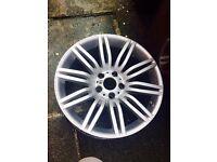 2 x Bmw 19inch spider alloy wheels