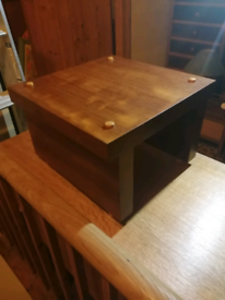 Small occasional table hand crafted locally.