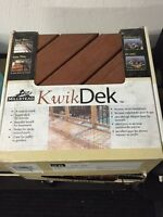 3 Boxes of Kwik Dek Flooring Deck Materials