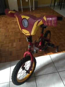 bicyclette Iron Man