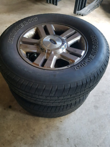 4 used truck tires