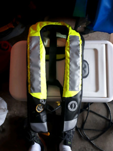 Mustang Survival High Visibility PFD vest