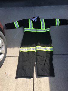 Stalworth (Marks Work Wearhouse) insulated high visi coveralls