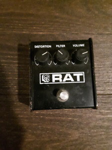 Vintage Small Box RAT (Blackface) - PRICE DROP