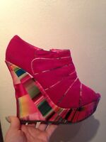 38 pink and multicolor
