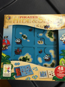 Jeux de société: Pirates hide and seek