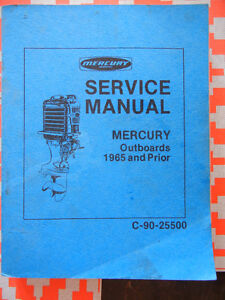 Mercury Outboard Service Manual 1940-1965