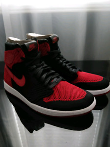 Air Jordan 1 Retro High Flyknit Banned (Bred) ($170 TODAY ONLY!)