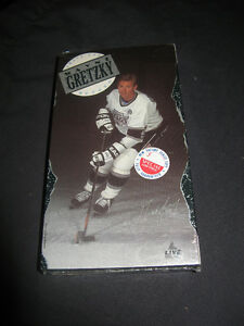 *new price* WAYNE GRETZKY Above And Beyond VHS 1990 new in pkg