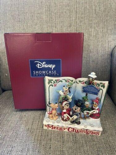 Enesco Disney Traditions MERRY CHRISTMAS Carol Jim Shore Figurine NIB FREE SHIP!