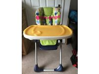 Chicco Polly Highchair & Fisherprice portable highchair