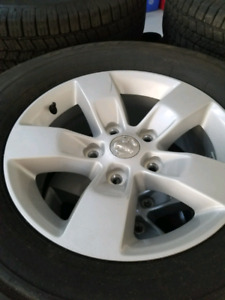 Factory dodge ram rims and tire brand new
