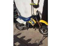 Husqvarna husky boy 50cc motorbike kids off road
