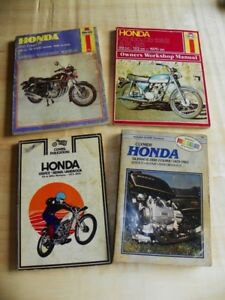 4 Manuals for Honda Motorcycles
