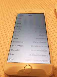 Iphone 6 16gb silver factory unlocked  Edmonton Edmonton Area image 1