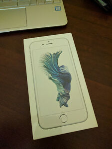 IPHONE 6S 16GB SILVER SEALED Brand New-Never Opened-BNIB