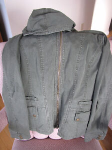 Bluenotes green Spring jacket