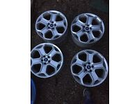 Ford Focus 18inch alloys