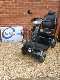 Rascal Frontier 8 Mph Heavy Duty Mobility Scooter